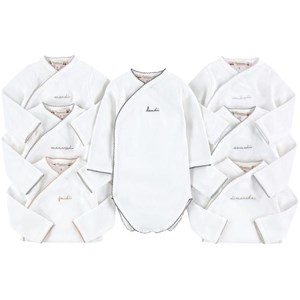 Bonpoint 7-Pack Days of the Week Baby Bodys Vita 1 month