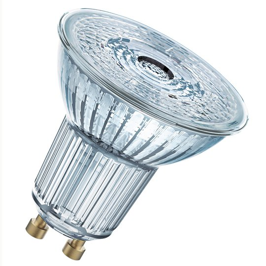 OSRAM-LED-lasi-heijastin GU10 5,5W 940 36° dim