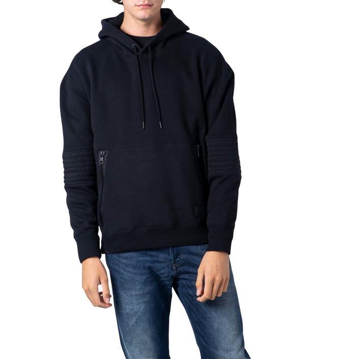 Calvin Klein Jeans Men's Sweatshirt Black 181418 - black XS