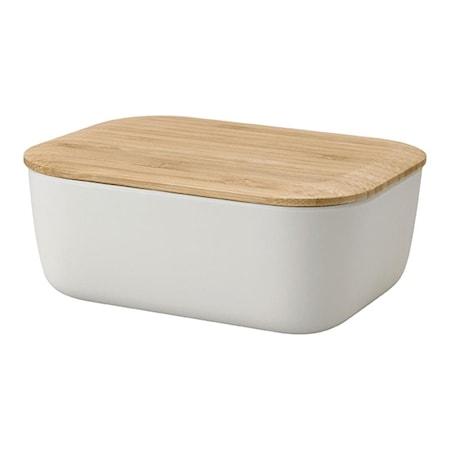 BOX-IT Smörbox Ljusgrå