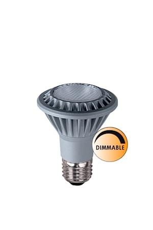 Ljuskälla LED Spot E27 Krom Dimbar