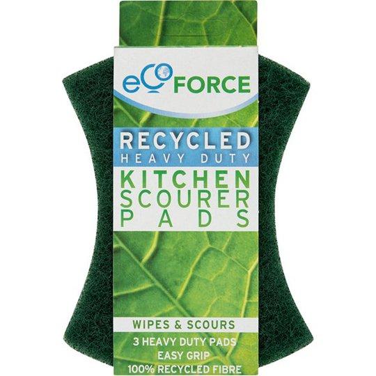 Ecoforce Skrubbsvamp grov, 3-pack