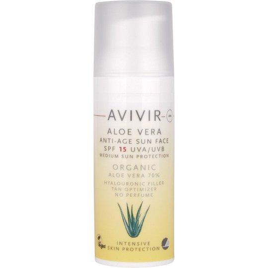 Aloe Vera Anti Age Sun Face, 50 ml Avivir Aurinkovoiteet