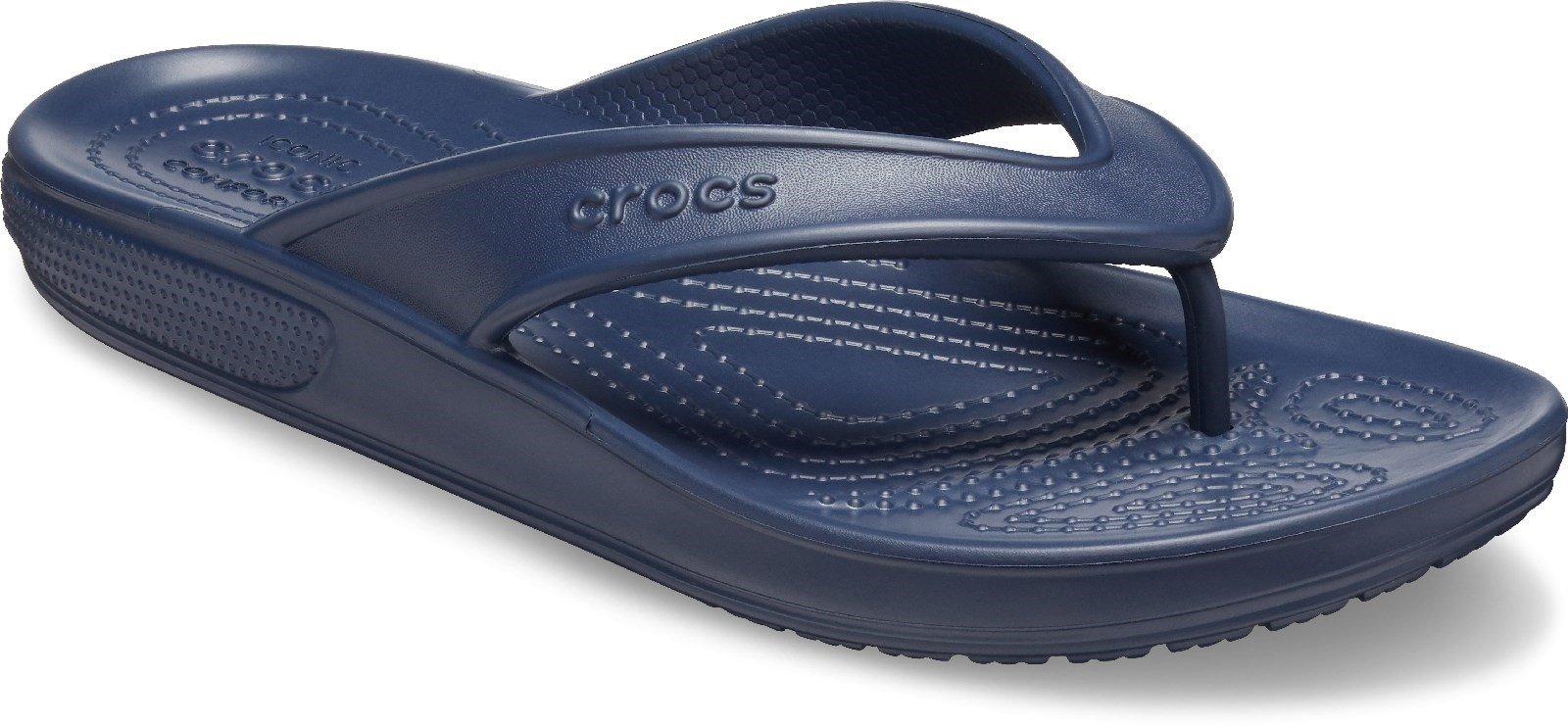 Crocs Women's Classic II Flip Flop Various Colours 30609 - Navy 3