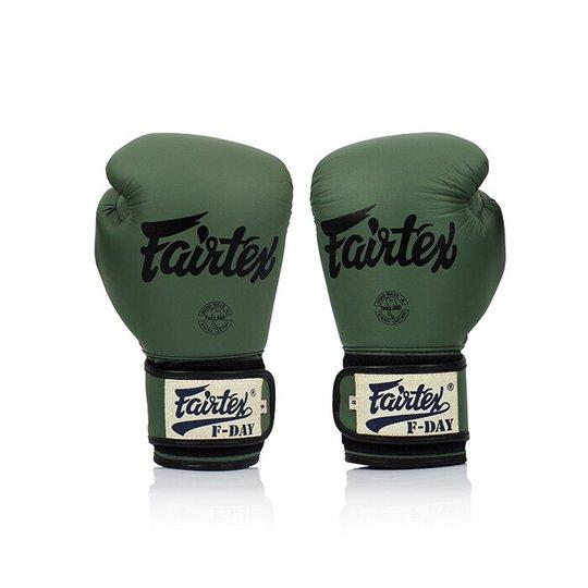 Fairtex BGV11, F-Day Boxing Glove, Green