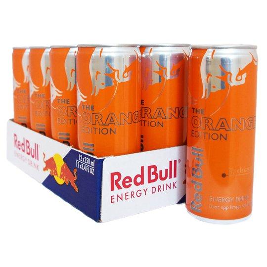 "Hel Låda Red Bull ""Orange"" 12 x 250ml - 20% rabatt"