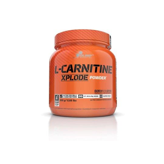 L-Carnitine Xplode Powder, 300 g, Orange