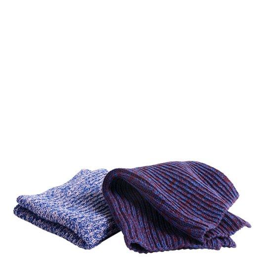 Hay - Kitchen Cloth Tvättlappar Melerad Blå/Rosa/Röd