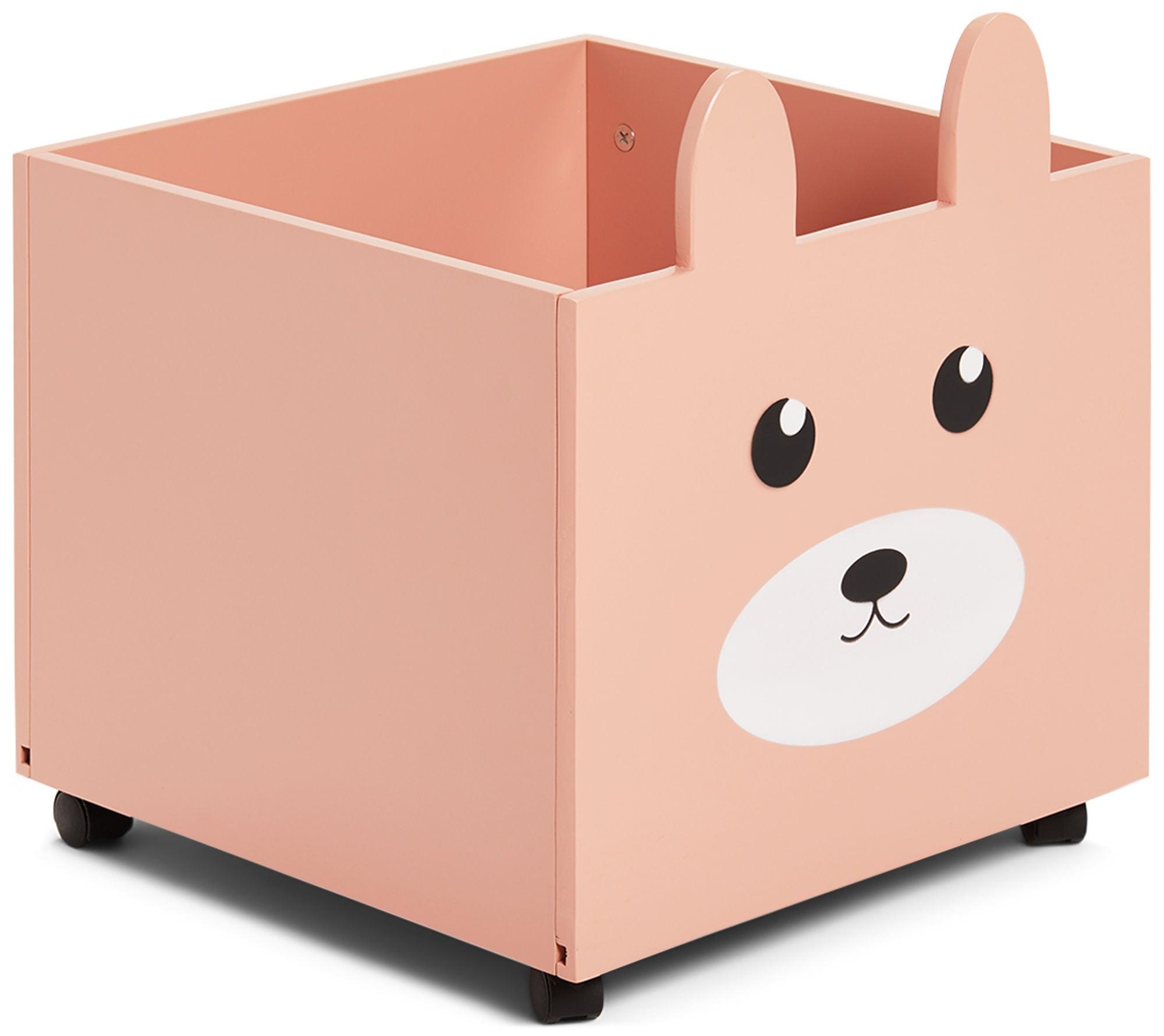 Alice & Fox Säilytyslaatikko, Vaaleanpunainen