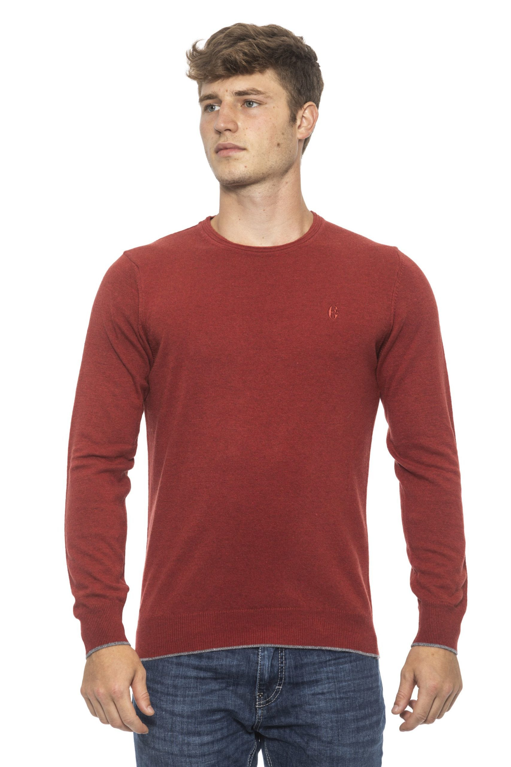 Conte of Florence Men's Sweater Red CO1272770 - S