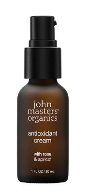 John Masters Organics - Antioxidant Cream w. Rose & Apricot 30 ml