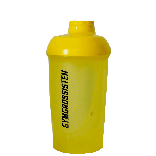 Gymgrossisten Wave Shaker, Yellow, 600ml