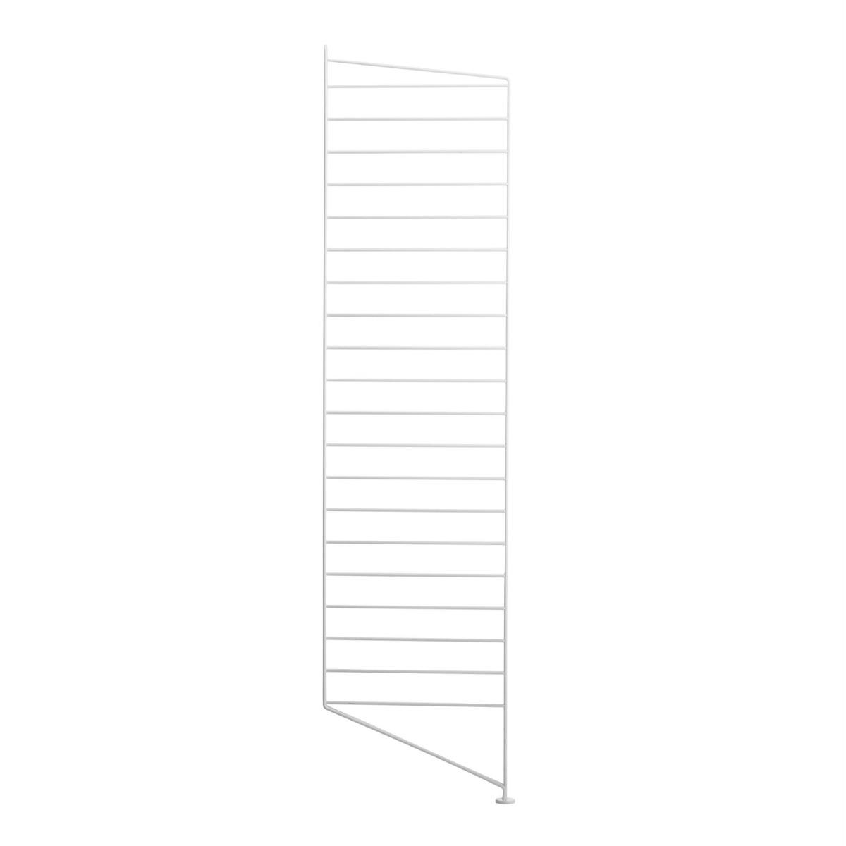 String Golvgavel 115x30 1-p vit