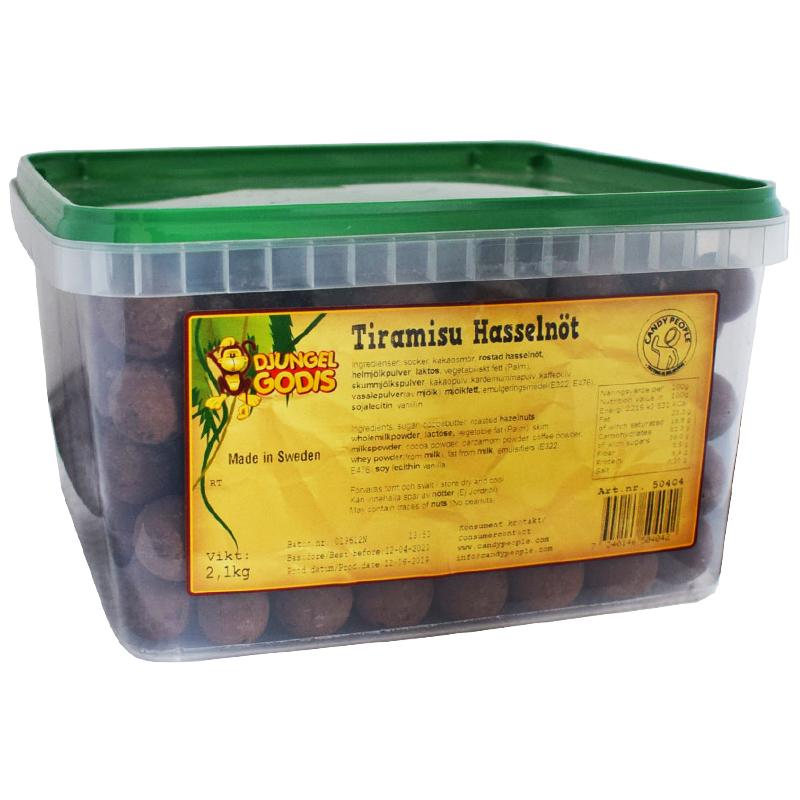 Tiramisu hasselnöt 2,1kg - 47% rabatt