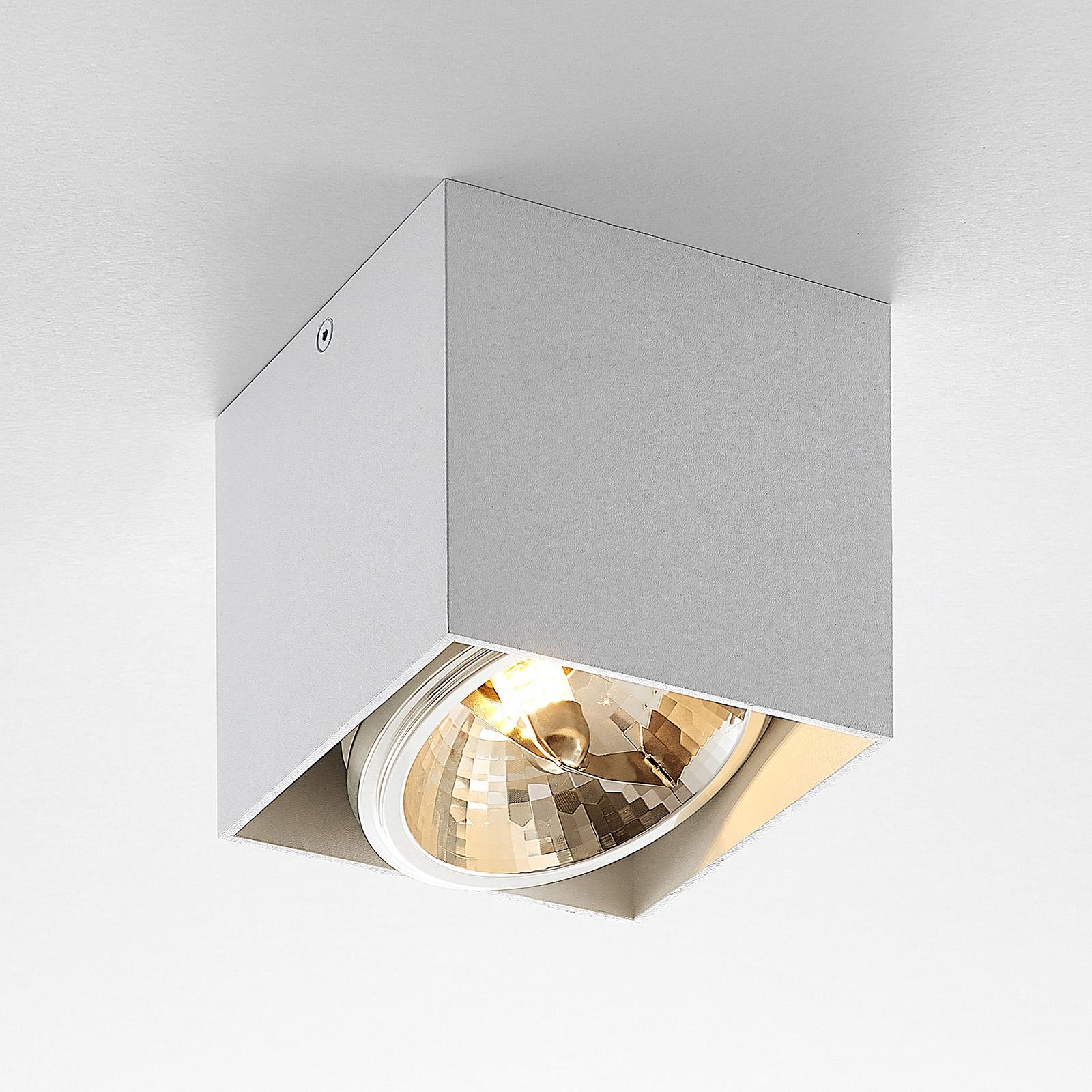 Arcchio Jarle -kattovalo, 1-lamp., valkoinen