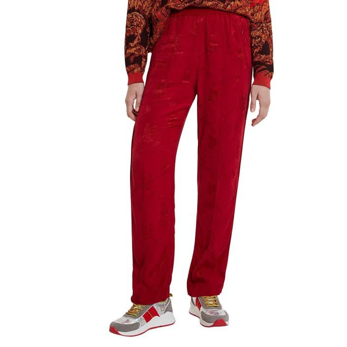 Desigual Women's Trouser Red 185127 - red M