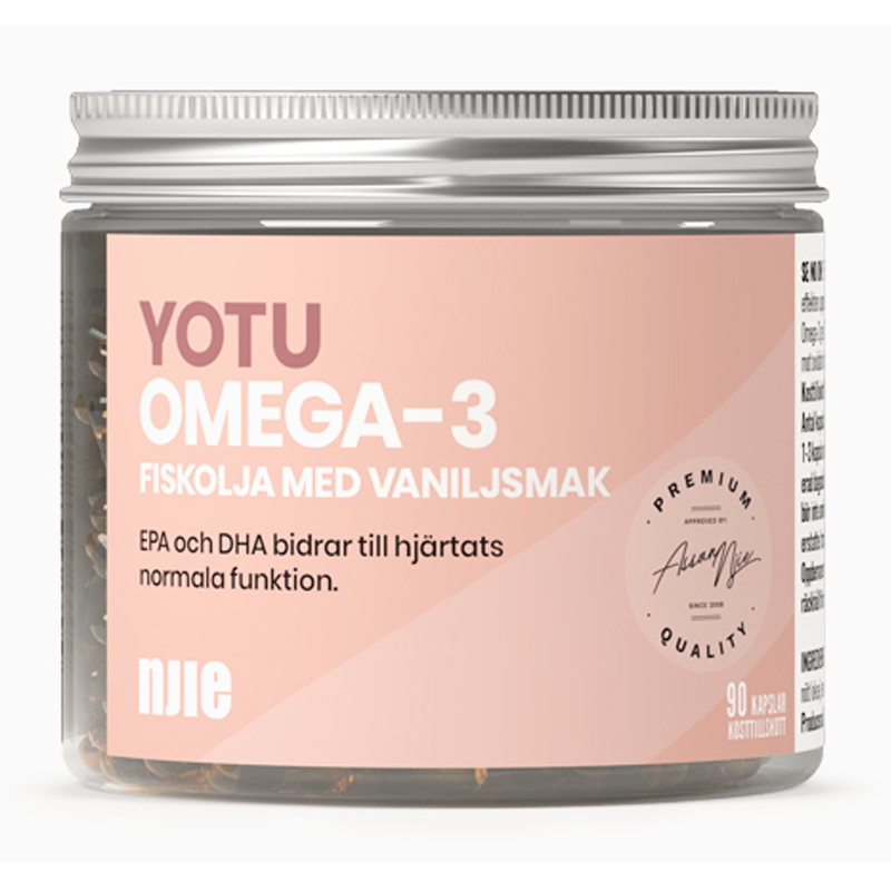 Omega-3 Vanilj 90 kapslar - 40% rabatt