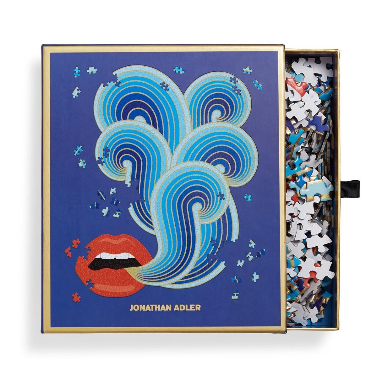 Jonathan Adler I 750 Lips Piece Puzzle