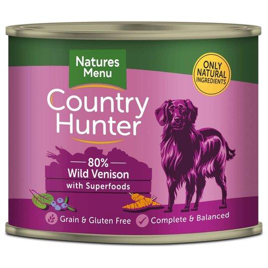 Natures:menu Country Hunter Dog Wild Venison 600 g