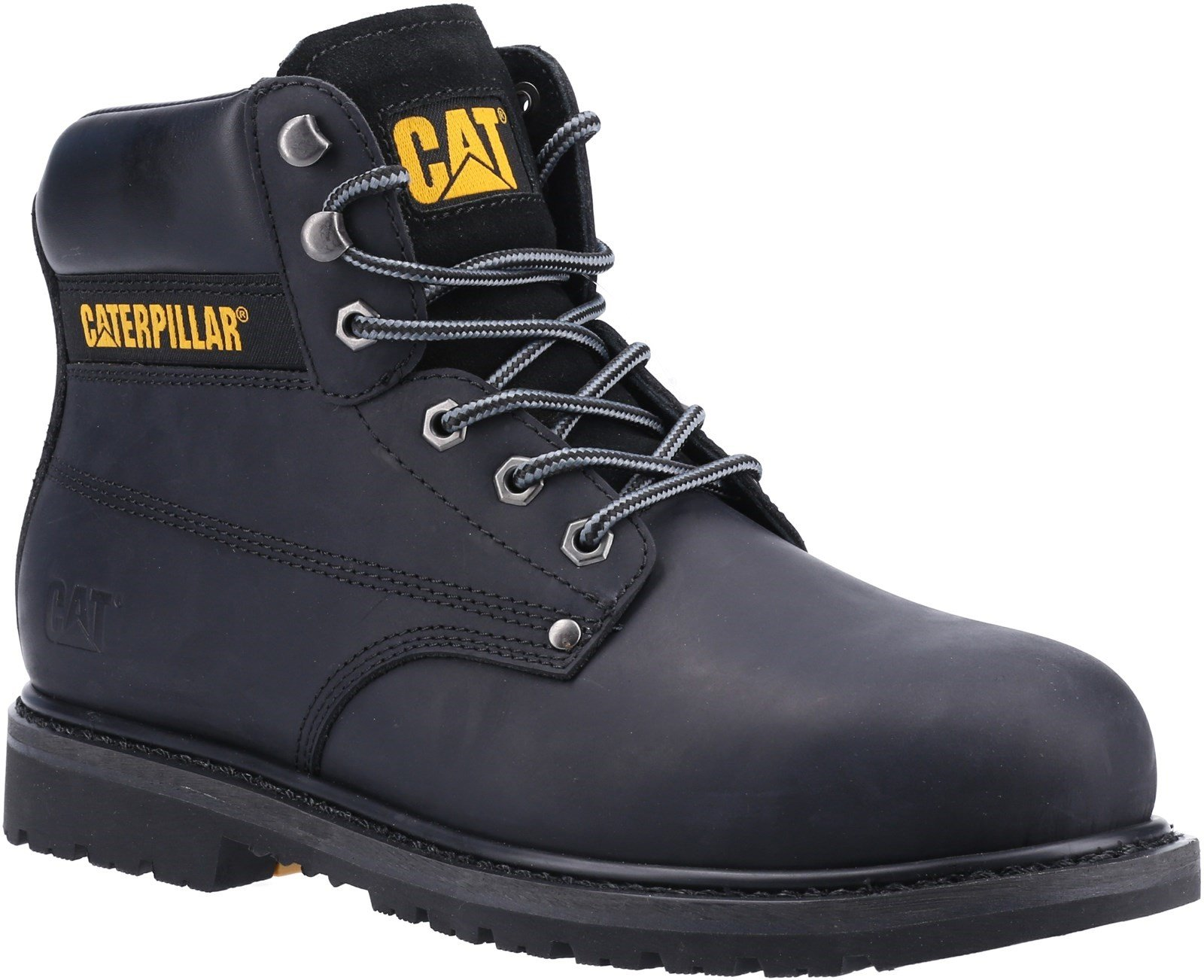 Caterpillar Unisex Powerplant S3 GYW Safety Boot Various Colours 32630 - Black 6