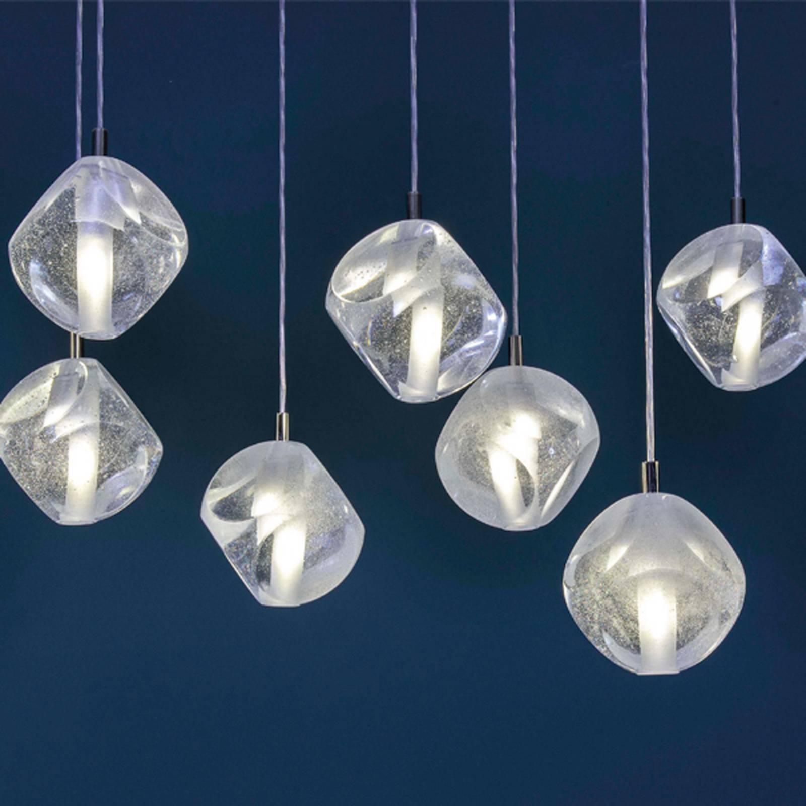 Riippuvalo Glace lasia, 1-lamppuinen