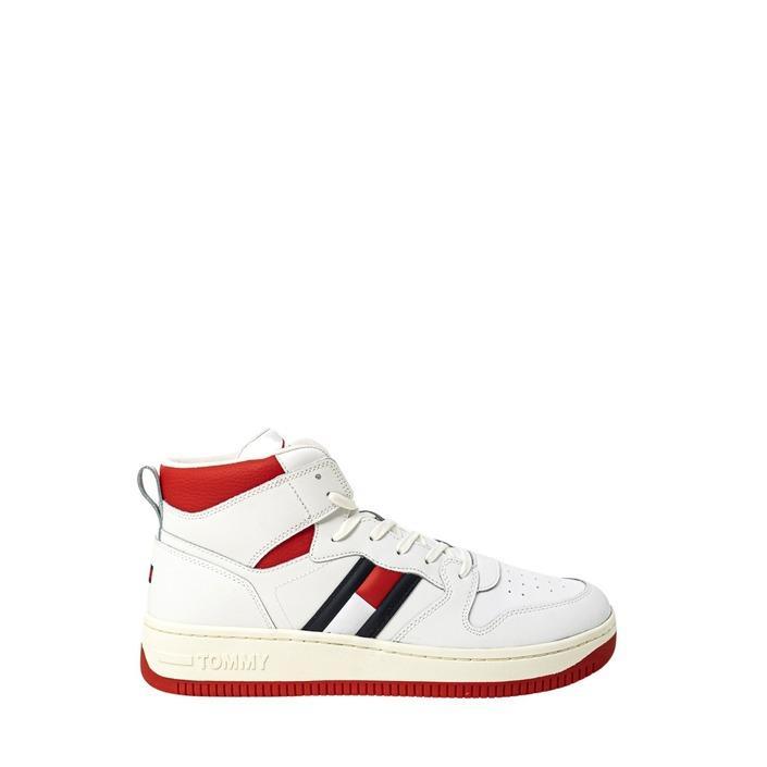 Tommy Hilfiger Jeans - Tommy Hilfiger Jeans Men Sneakers - white 40