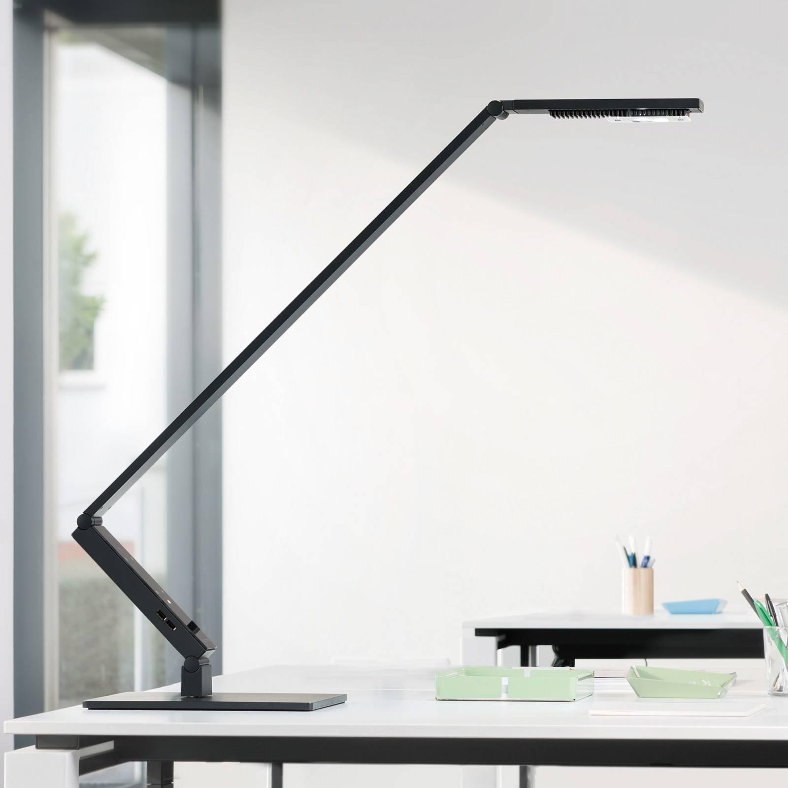 Luctra TableProLinear LED-bordlampe svart fot