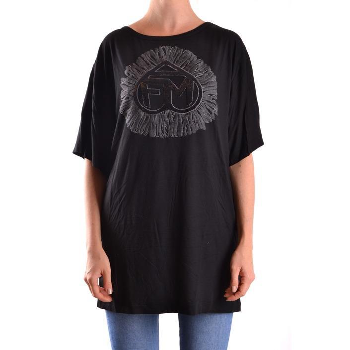 Frankie Morello Women's T-Shirt Black 187058 - black XS