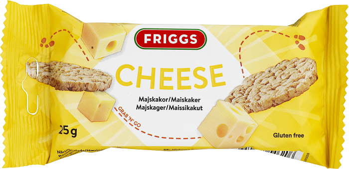 Friggs Snackpack Cheese 25g