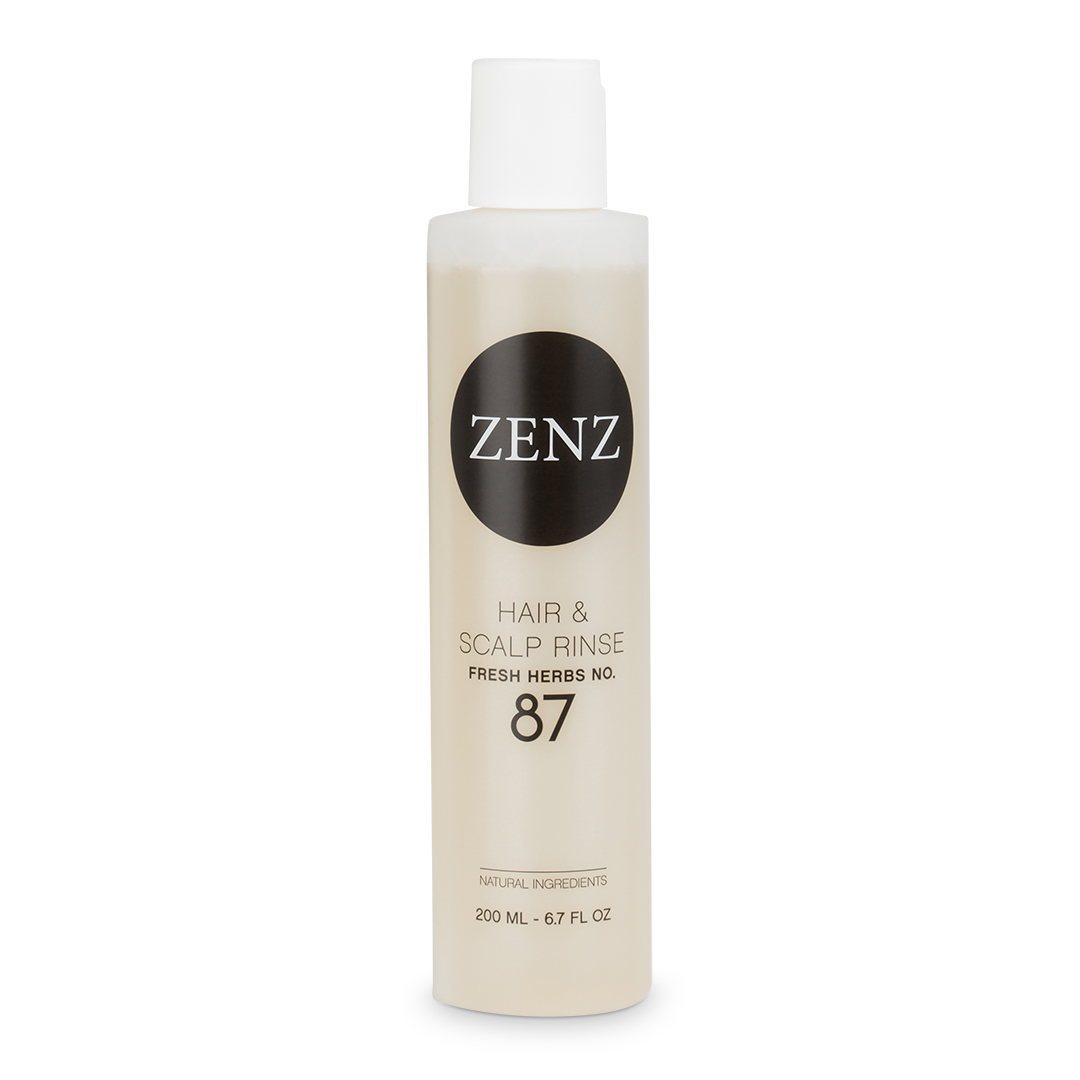 ZENZ - Organic Hair & Scalp Rinse Fresh Herbs No. 87 - 200 ml