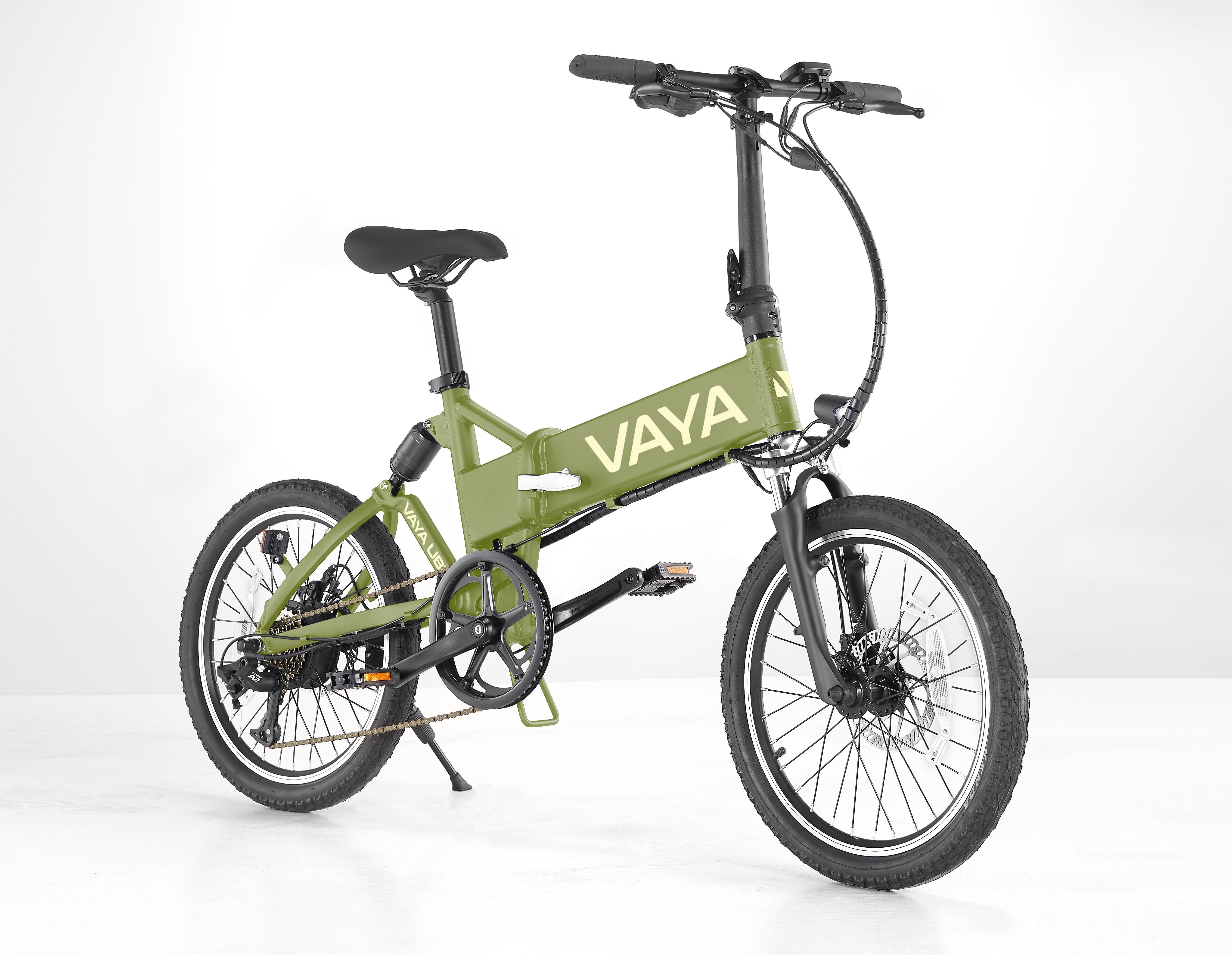 Vaya - Urban E-Bike UB-1 - Electric Bike - Army (1660UB1-AR)