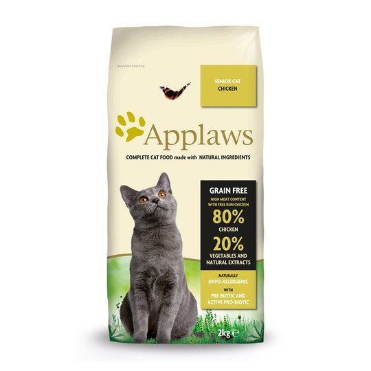 Applaws Cat Adult Grain Free Chicken Senior (400 g)