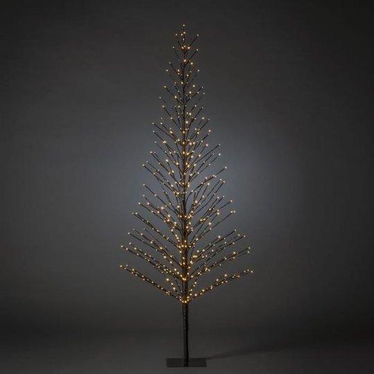 Konstsmide 3387-700 Koristevalaisin Musta, 210 cm