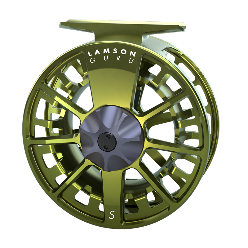 Lamson Guru Reel-9+ Olive Green