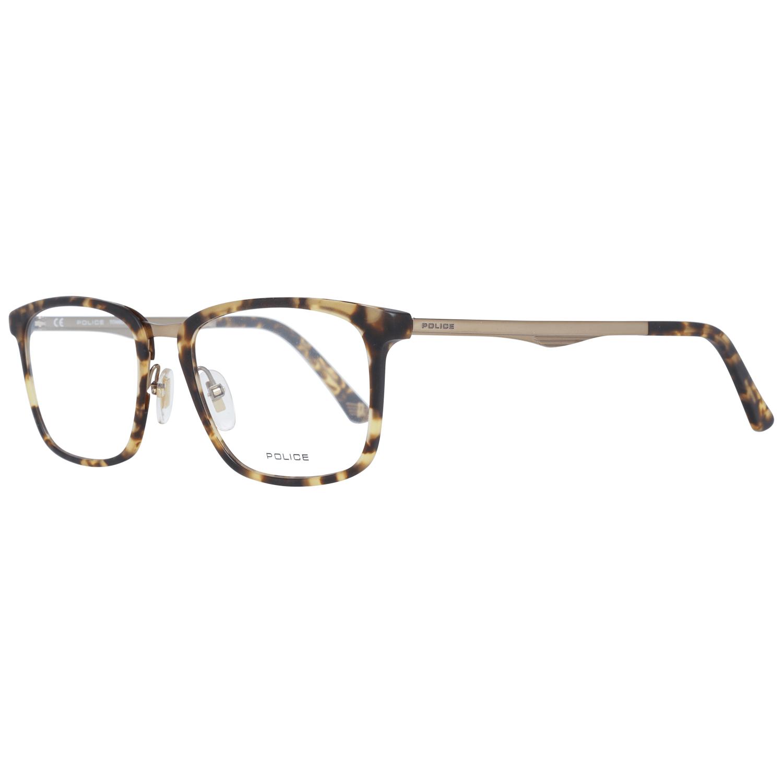 Police Men's Optical Frames Eyewear Brown PL684 52741M