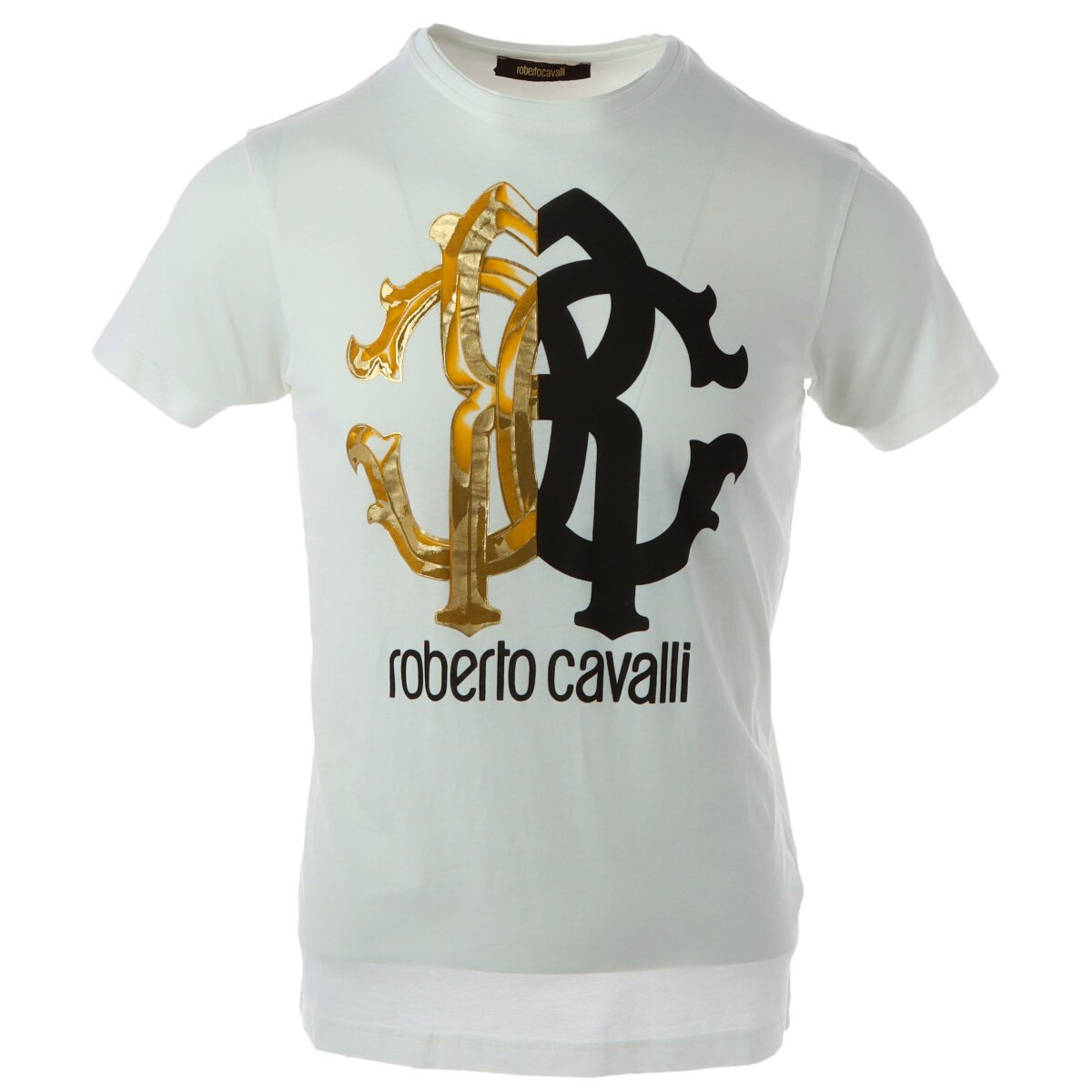 Roberto Cavalli - Roberto Cavalli Men T-Shirt - white M