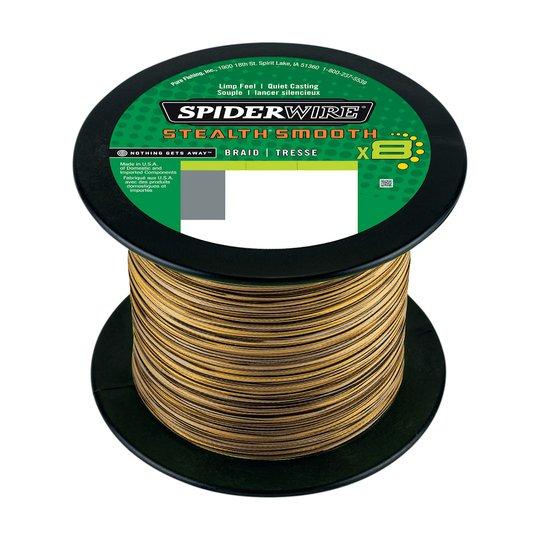Spiderwire Smooth 8 Camo 2000 m