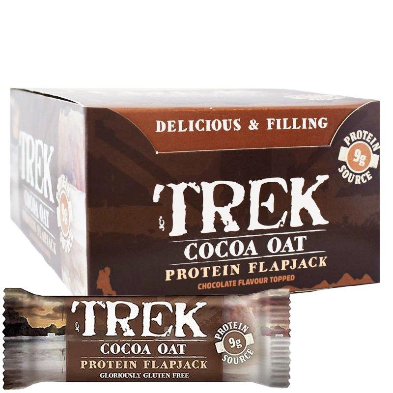 """Laatikollinen Proteiinipatukoita """"Cocoa Oat"""" 16 x 50g - 40% alennus"""