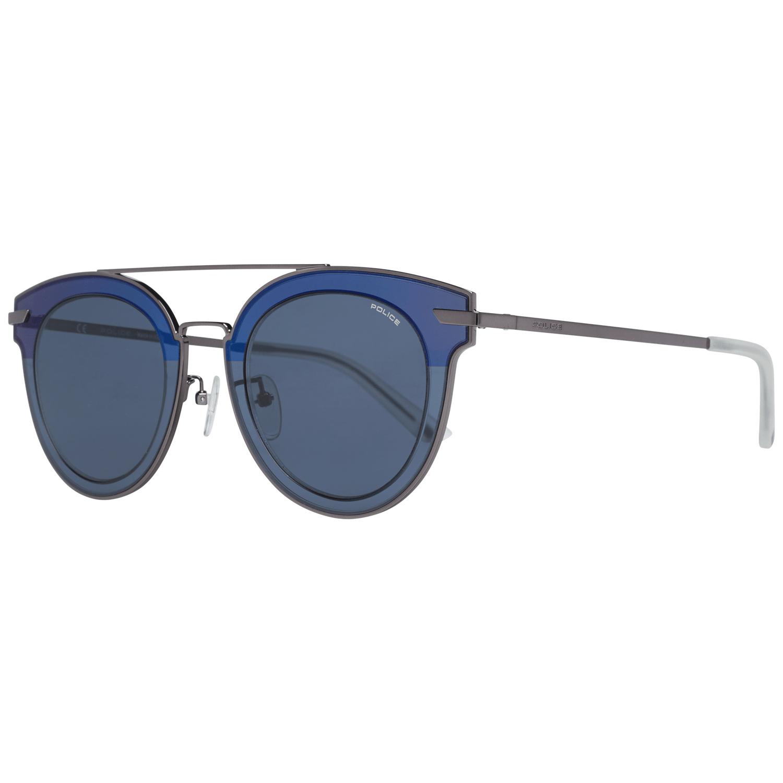 Police Men's Sunglasses Silver SPL543G50568B