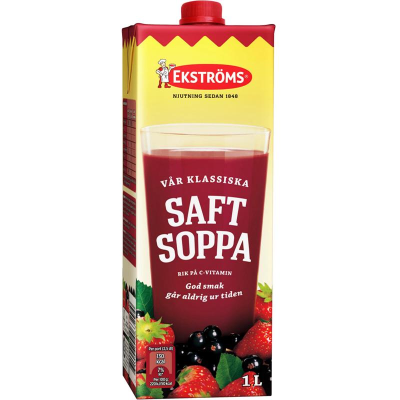 Saftsoppa 1l - 33% rabatt