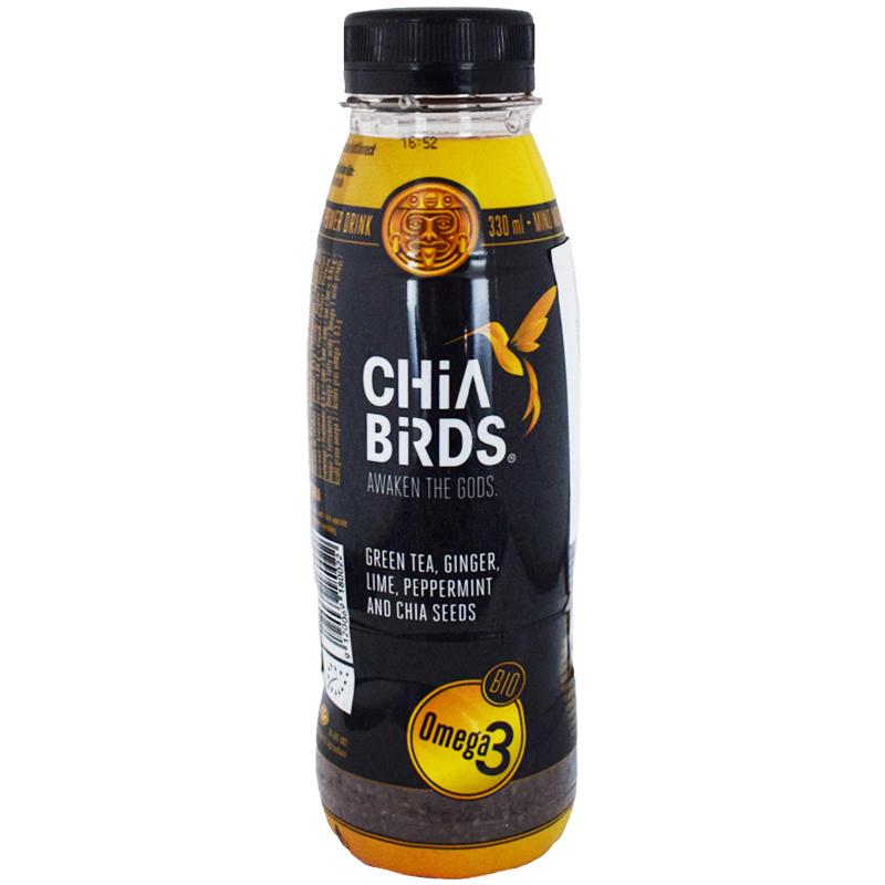"Juoma ""Chia birds"" 330ml - 57% alennus"