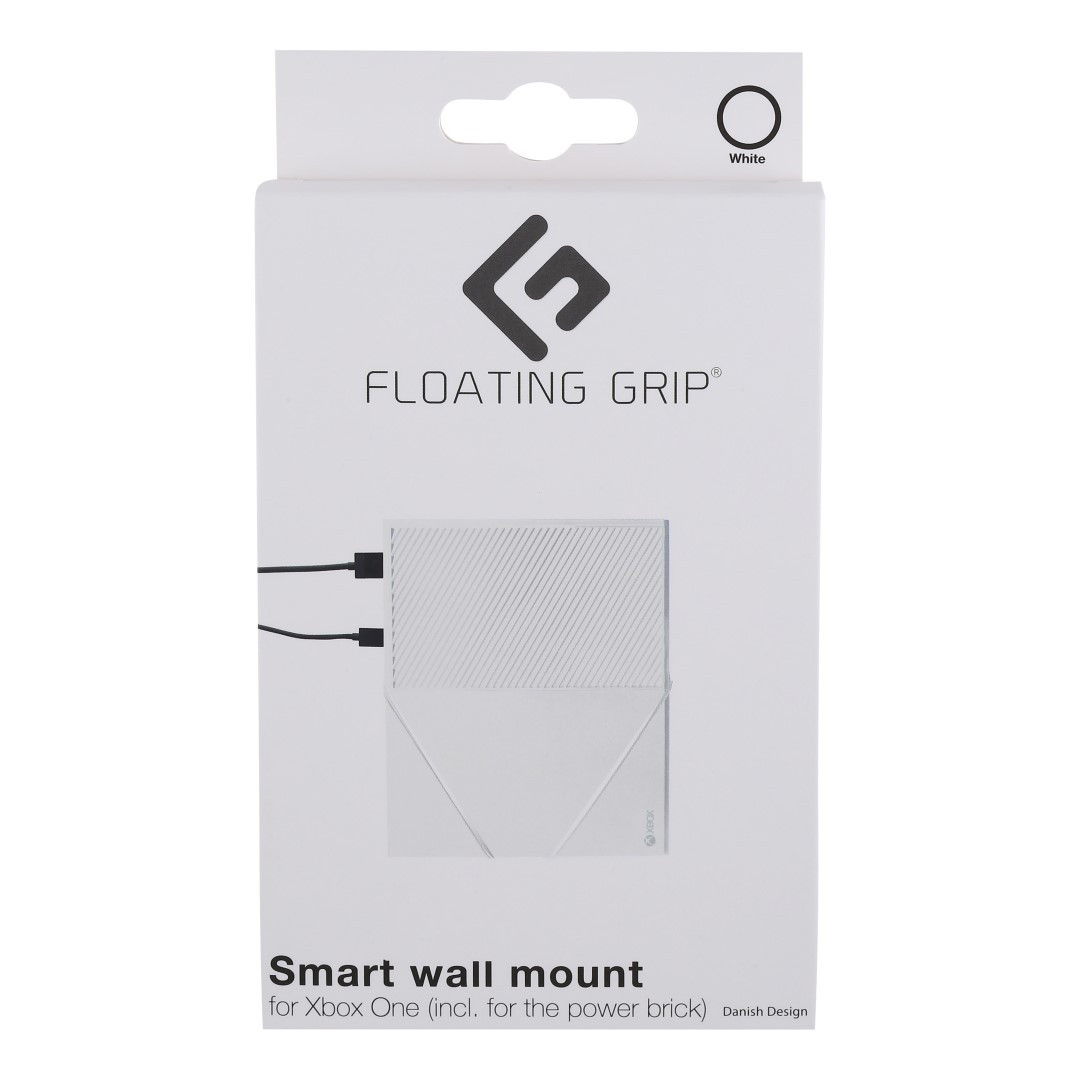 Xbox One wall mount by FLOATING GRIP®, White