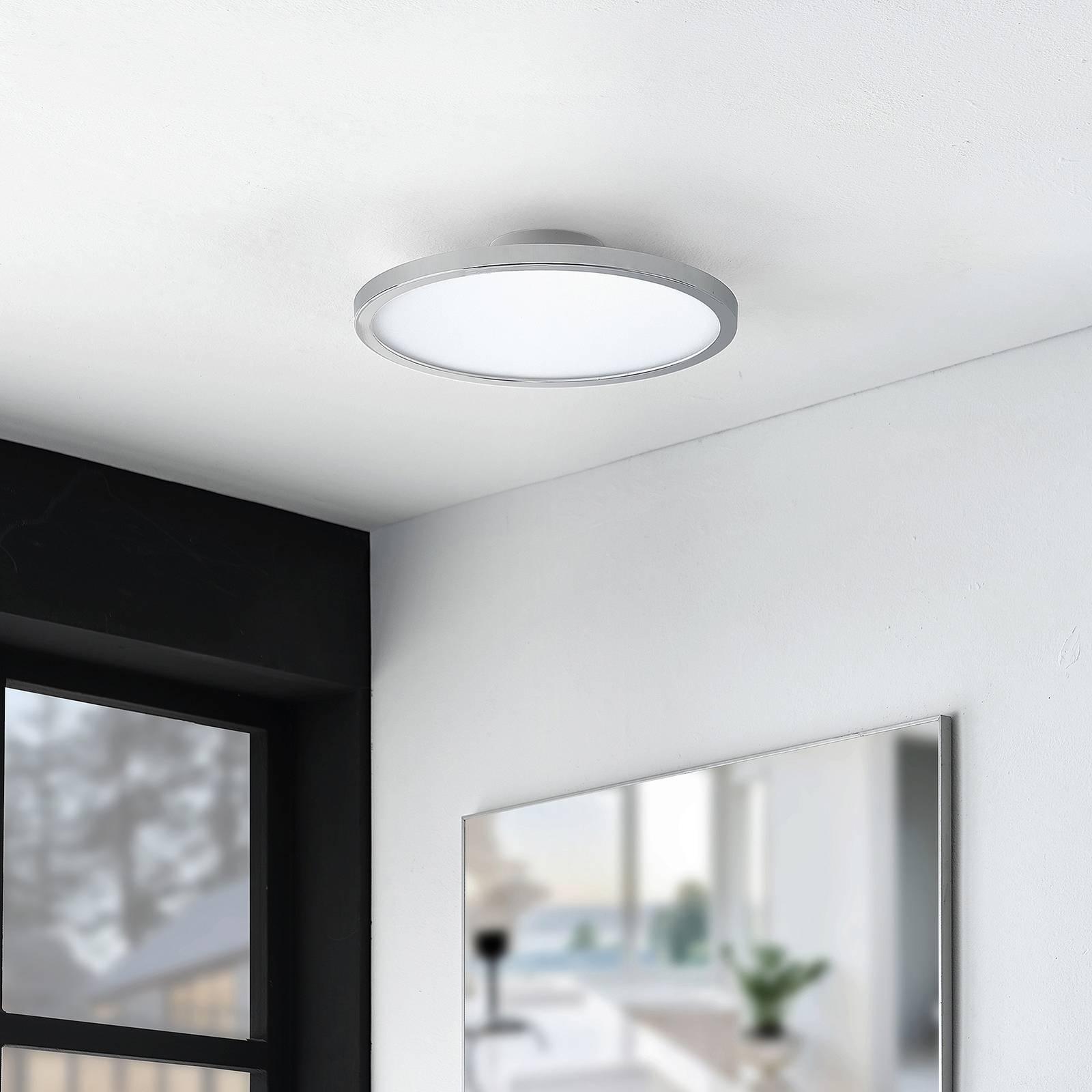 Lindby Skrolla kylpyhuoneen LED-kattovalaisin