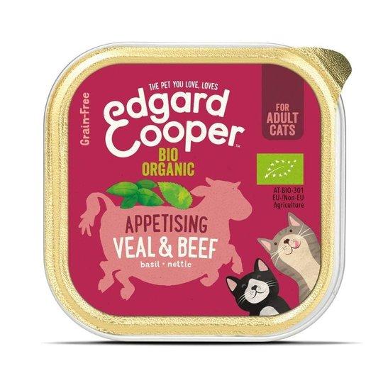 Edgard & Cooper Cat Organic Nöt & Kalv 85 g