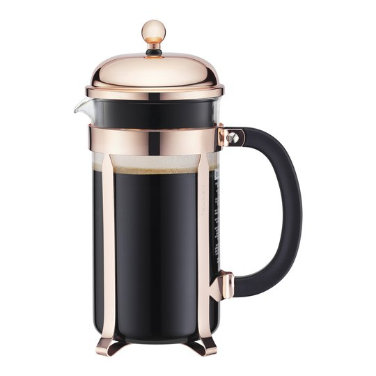 Bodum - Chambord Kaffepress 1 L/8 koppar stativ koppar