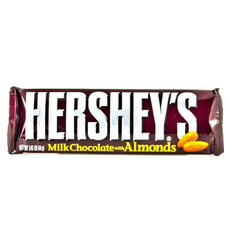 Hersheys Milk Chocolate Bar with Almonds 41gram