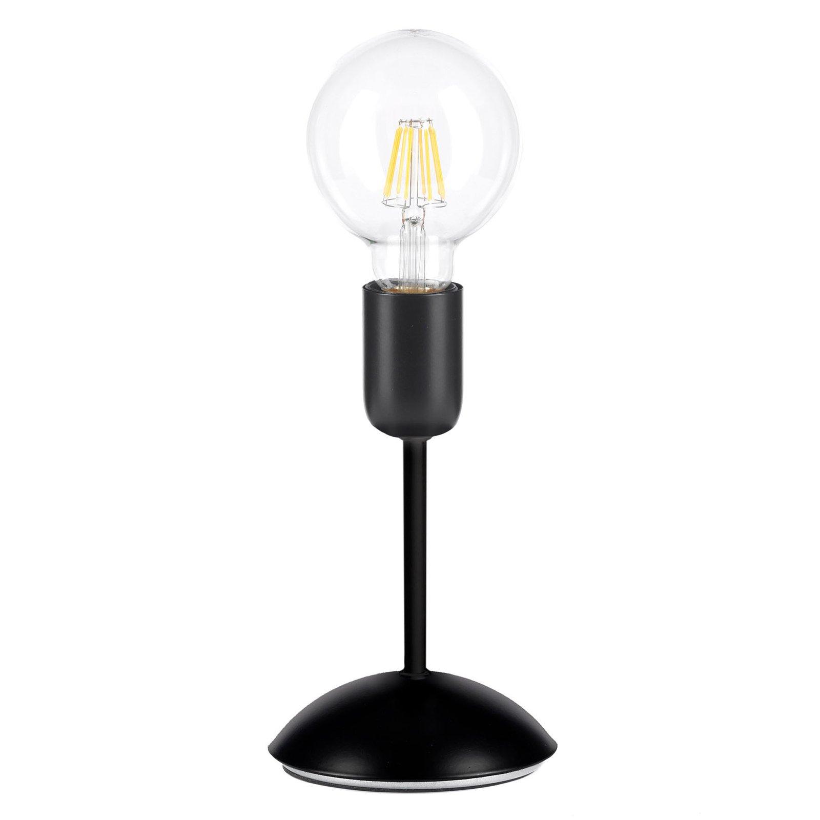 Bordlampe Mantis i svart, 1 lyskilde