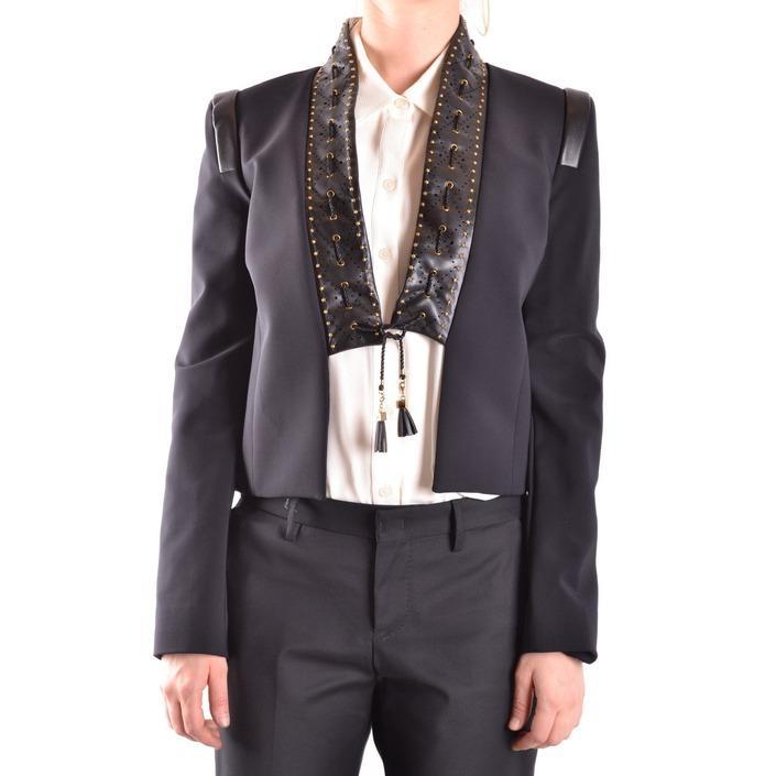 Elisabetta Franchi Women's Blazer Black 161200 - black 42