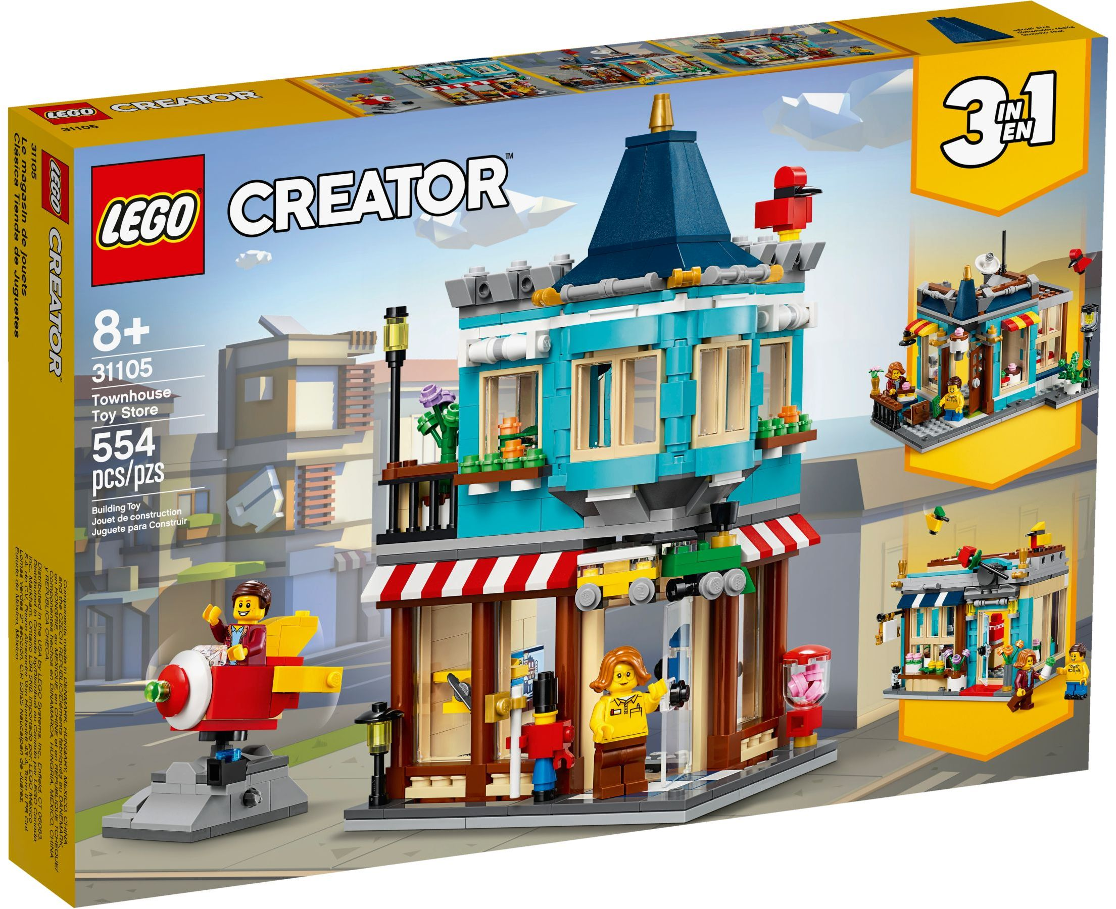 LEGO Creator - Townhouse Toy Store (31105)