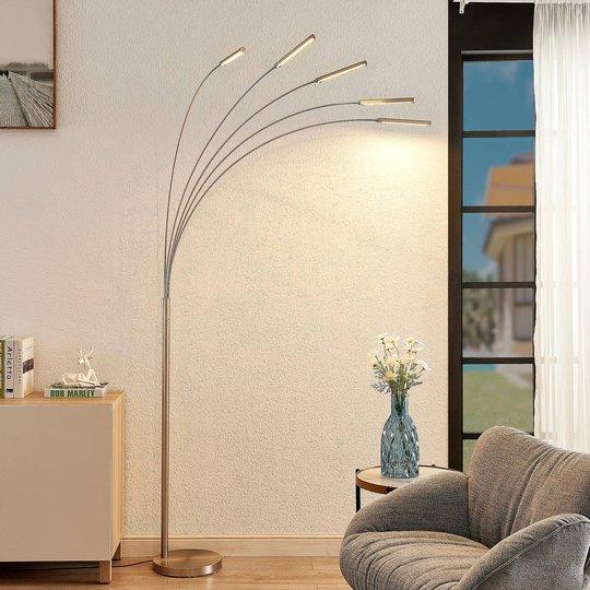 Lindby Feska LED-gulvlampe